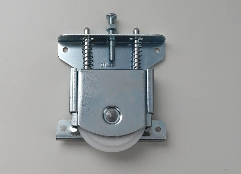 Rodillo para puertas correderas de armario (parte inferior)
