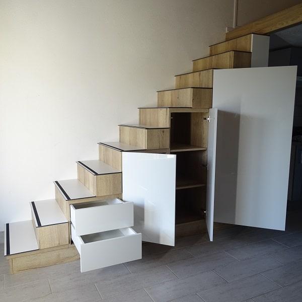 Armario escalera